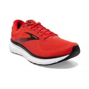 BROOKS GLYCERIN 18 Homme - Cherry Tomato / Samba / Black