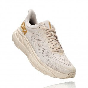 HOKA ONE ONE Clifton 7 ALMOND MILK / BRONZE Femme