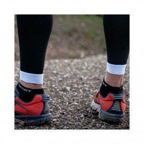 COMPRESSPORT Chaussettes basses PRO RACING SOCKS V3.0 RUN LOW Homme | Noir