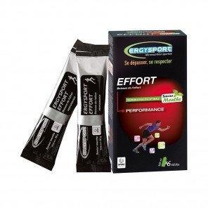 ERGYSPORT Boisson Effort - Étui de 6 sticks de 30g   Menthe