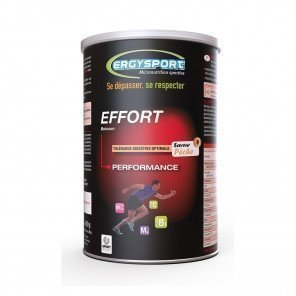 ERGYSPORT Boisson Effort - Pot de 450g   Pêche