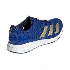 Adidas Adizero Boston 8 Homme   Bleu Roi Collegiale