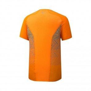 MIZUNO Tee-Shirt manches courtes AERO PREMIUM Homme   Oriole