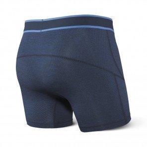 SAXX UNDERWEAR Kinetic Boxer brief Homme   Blue Cross Dye